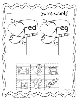 It's Valentine's Day!  Math and Literacy Activities
