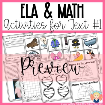 VALENTINE'S DAY ACTIVITIES for Kindergarten and First Grade