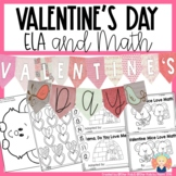 VALENTINE'S DAY ACTIVITIES for Kindergarten and First Grade