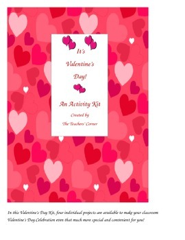 It's Valentine's Day...An Activity Kit