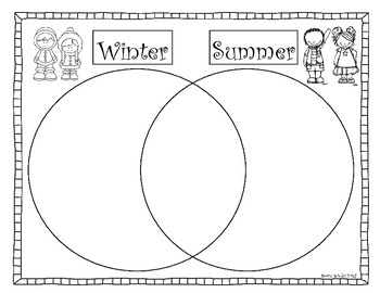 It's Winter!  Math and Literacy Activities