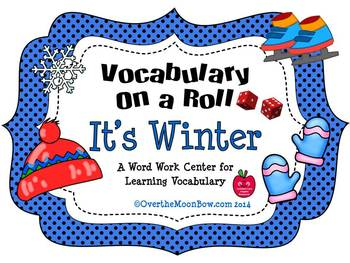 It's Winter - Vocabulary On a Roll