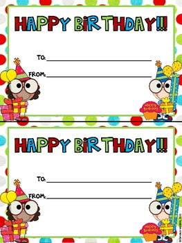 It's Your Birthday: Birthday Certificate