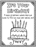 It's Your Birthday! Class Book Activity {A Birthday Book For Each Student!}