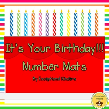 It's Your Birthday! Counting Mats