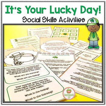 St. Patrick's Day Social Skills: It's Your Lucky Day