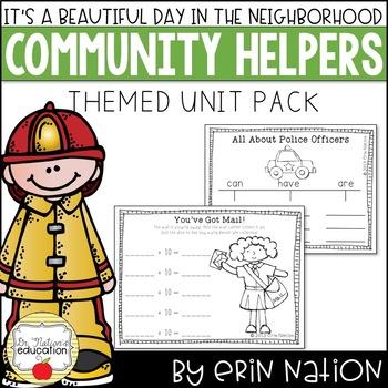 It's a Beautiful Day in the Neighborhood {Math & ELA community activities}