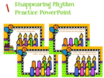 It's a Birthday Rhythm Celebration!!!  {syncopa version}