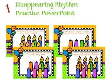 It's a Birthday Rhythm Celebration!!!  {tika-ti version}