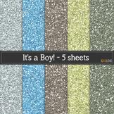 It's a Boy Glitter
