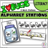It's a Buggy World - Alphabet Work Stations Aligned to Common Core