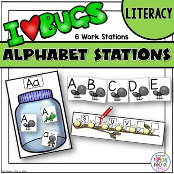 It's a Buggy World - Alphabet Work Stations Aligned to Com
