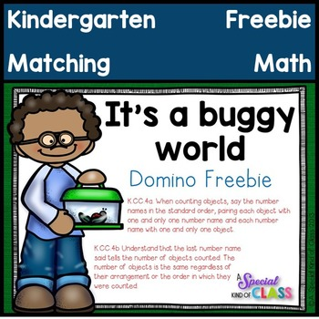 It's a Buggy World - Domino Freebie - Aligned to Common Core