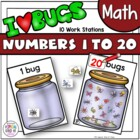 It's a Buggy World - Math Work Stations Aligned to Common Core