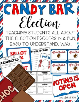 3rd Grade Elections - Voting Worksheets | Teachers Pay Teachers