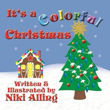 It's a Colorful Christmas - Paperback Book