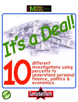 Calculating Percents: It's A Deal! 10 real life examples