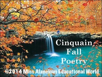 "It's a ""Fall"" Kind of Time! Fall Cinquain Poetry"