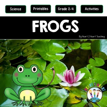 Frogs - Life Cycle of a Frog - Flip Up Book