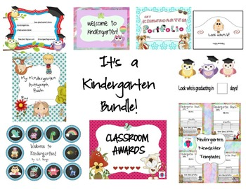 It's a Kindergarten Bundle!