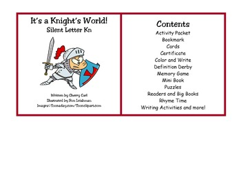 It's a Knight's World! Silent Letter Kn Activity CD