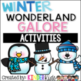 It's a Math, Literacy and Science Winter Wonderland Galore!