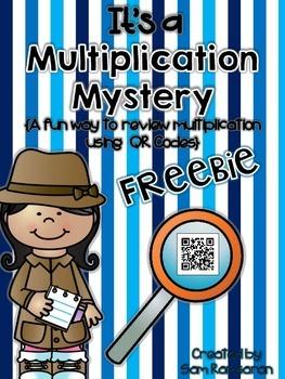 It's a Multiplication Mystery {FREEBIE}