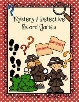 It's a Mystery! {Game Boards}
