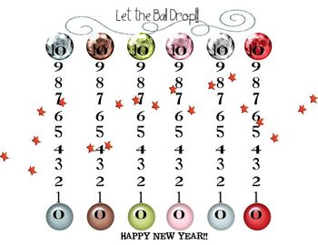 It's a New Year {New Year's Language, Math, Science Activities}