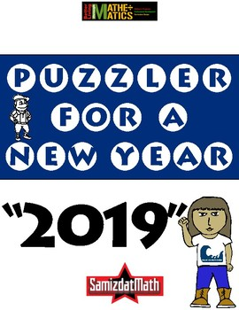 It's a New Years Puzzla' Freebie!