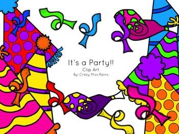 It's a Party Clip Art Pack