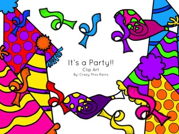 It's a Party Clip Art Pack
