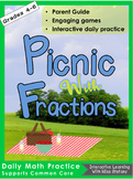 It's a Picnic Fraction Summer Practice