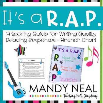 It's a R.A.P- A Scoring Guide for Writing Quality Constructed Response Answers