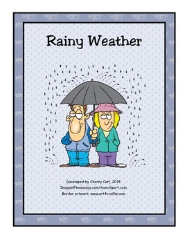 It's a Rainy Day! Activity Packet