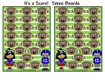 It's a Score!  Token Boards