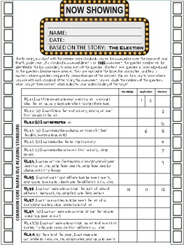 12 Activities/Assessments: Reading Literature, Reading Informational and Writing