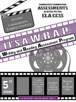 4 Reading Literature Activities/Assessments: Theme, Plot, Characters