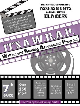 It's a WRAP! 7th Grade Reading and Writing Activities/Assessments