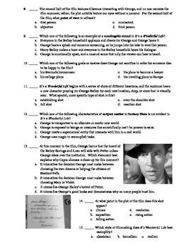 It's a Wonderful Life Film (1946) 15-Question Multiple Choice Quiz