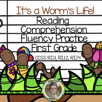 It's a Worm's Life Reading Comprehension & fluency Practic
