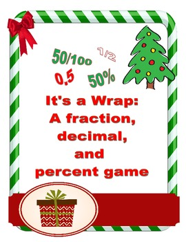 It's a Wrap: A Christmas fraction, decimal and percent game