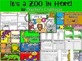It's a Zoo In Here! Unit from Teacher's Clubhouse