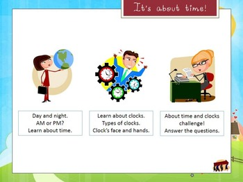 All about time and clocks - Interactive Presentation (spring edition)