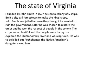 It's all about the 13 colonies
