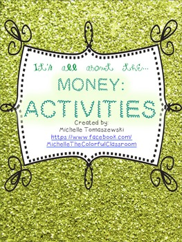 It's all about the MONEY, honey! {part 2: written activities}