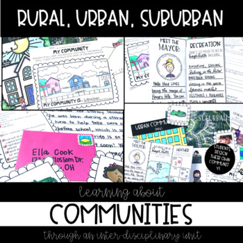 Suburban Urban Rural Communities, Project-Based Learning, Types of Communities