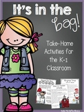 It's in the Bag-Take Home Activity Bags