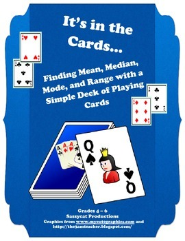It's in the Cards - Finding Mean, Median, Mode, and Range
