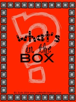It's in the box! Using your senses in science